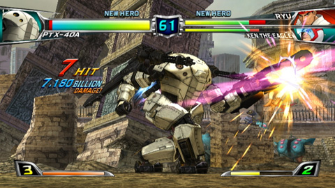 Tatsunoko vs. Capcom Screenshot #1