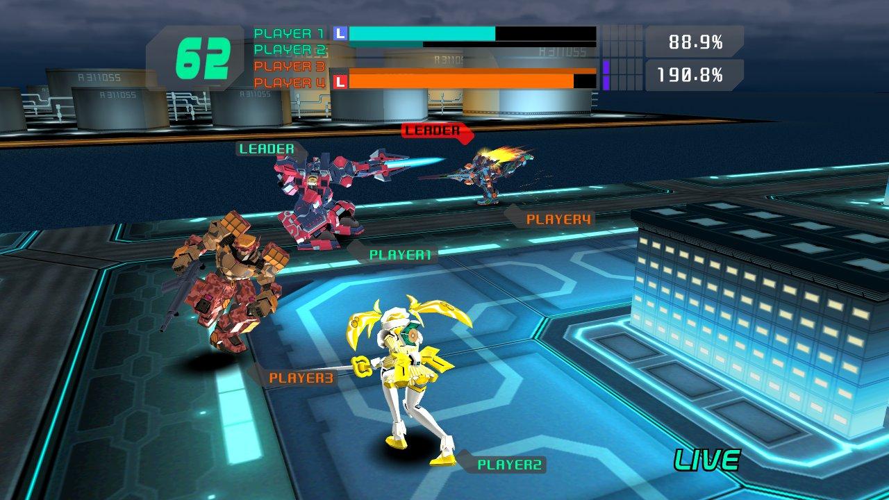 Mecha Damashii » News: Virtual On Force VR Viewer